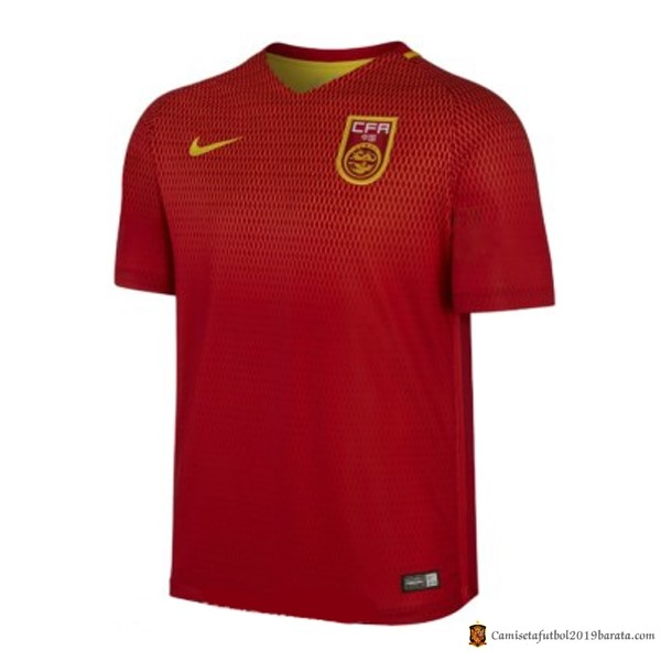 Camiseta Seleccion China Replica Primera 2017